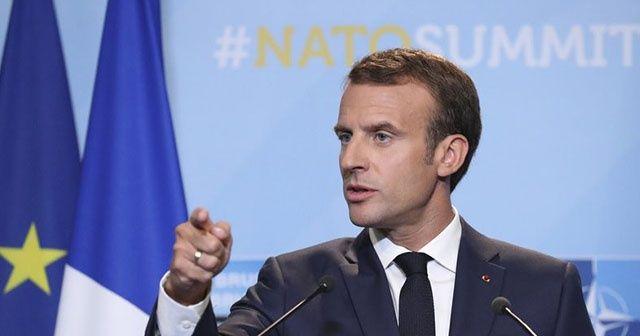"""Fransa Cumhurbaşkanı Emmanuel Macron: """"NATO beyin ölümü yaşıyor"""""""