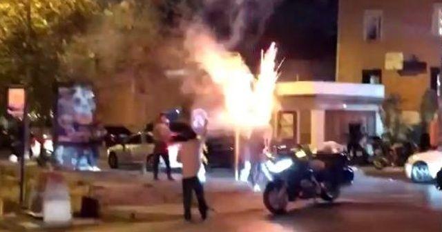 Magandalar doğum günü bahanesiyle terör estirdi