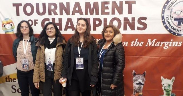 Marmara Koleji öğrencileri Dünya Bilginleri Yarışmasın'dan 7 madalya ile döndü
