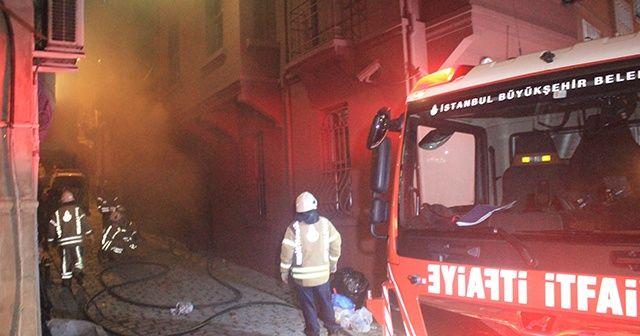 Masumiyet Müzesi'nin bodrum katında korkutan yangın
