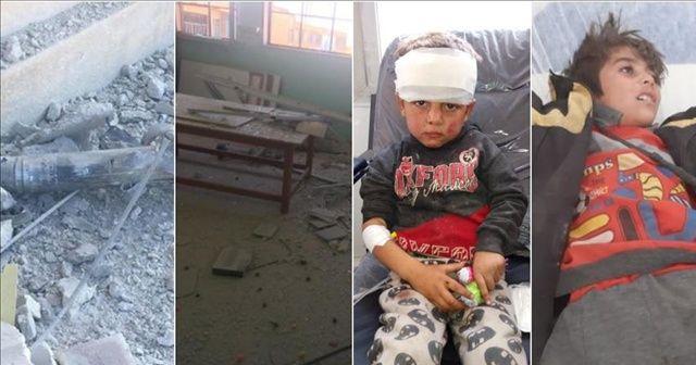 MSB: Terör örgütü PKK/YPG Tel Abyad'da okulu vurdu; 3 sivil hayatını kaybetti, 8 sivil yaralandı