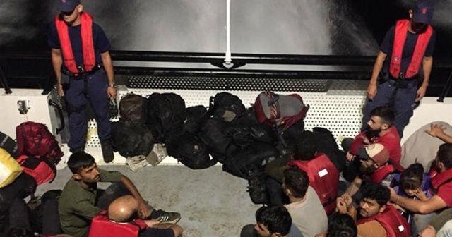 Muğla'da 22 düzensiz göçmen yakalandı