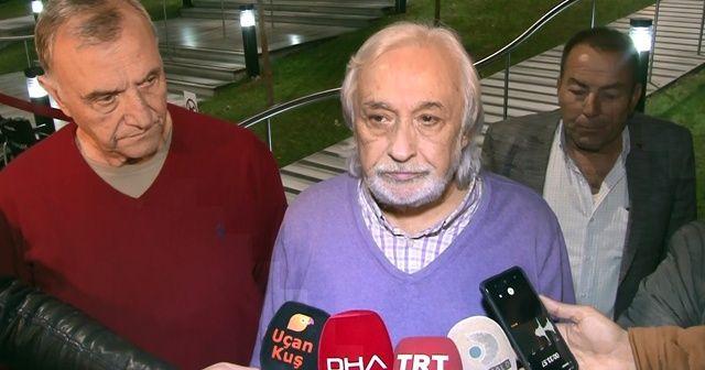Müjdat Gezen ve Mustafa Alabora, Yıldız Kenter'in hayatını kaybettiği hastaneye geldi