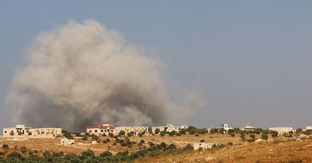 Rusya'nın İdlib'e hava saldırılarında 5 sivil hayatını kaybetti