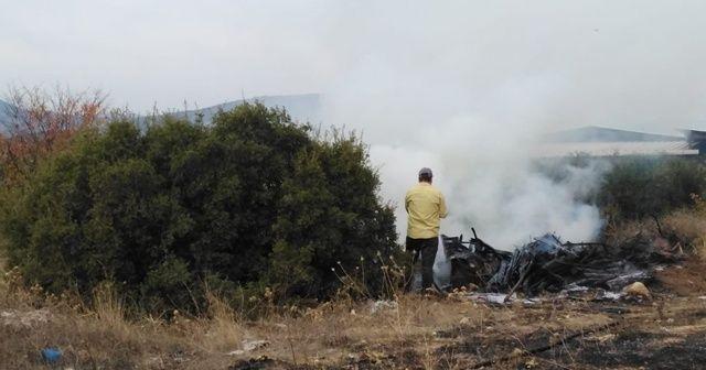 Su ısıtmak için bahçede ateş yaktı, sonrası felakete yol açıyordu
