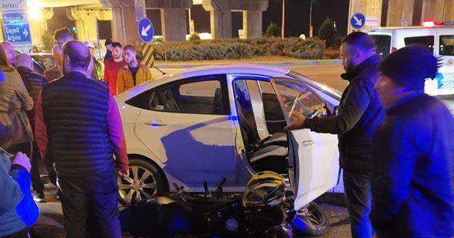 Süper Lig oyuncusu kaza yaptı!