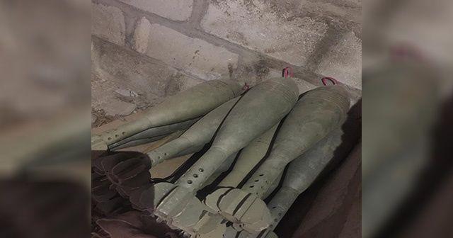 Suriye Milli Ordusu Resülayn'da mühimmat buldu