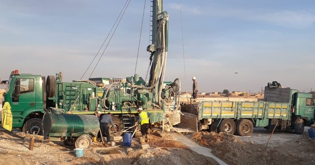 Tel Abyad ve Resülayn'da su sorunu çözülüyor