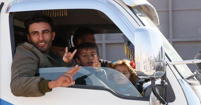 Tel Abyadlılar eve dönüş mutluluğu yaşıyor