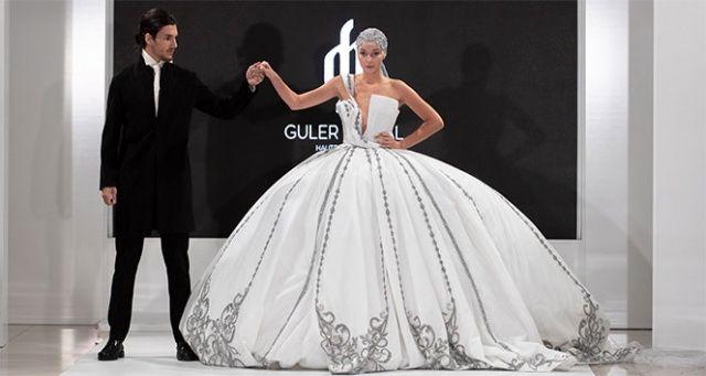 Türk tasarımcının gelinliği Ortadoğu'dan çok sayıda sipariş aldı