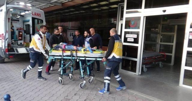 YPG/PKK'lı teröristlerin roketli saldırısında yaralananlar Kilis'e getiriliyor