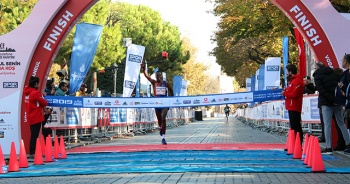 41. İstanbul Maratonu'nda kazanan belli oldu