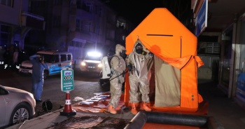 Aksaray'da panik! Kimyasal madde alarmı