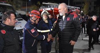 Arnavutluk Başbakanı:Türkiye'nin yardımları hiçbir zaman unutulmayacak