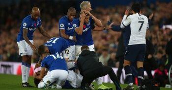Ayak bileği kırıldı! Futbolcular kahroldu