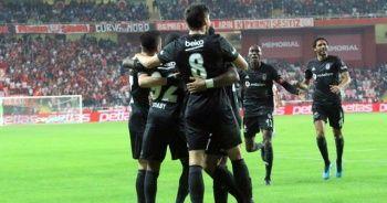 Beşiktaş, Antalya'dan 3 puanla döndü
