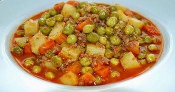 Bezelye yemeği tarifi ve Bezelye yemeği yapımı, Bezelye yemeği nasıl yapılır, Kolay Bezelye yemeği yapılışı