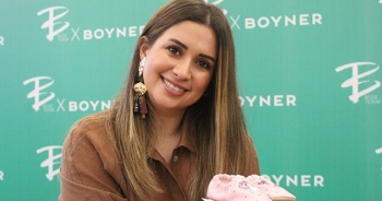 Boyner için çocuk giyim koleksiyonu hazırlayan Buse Terim Antalyalılarla buluştu