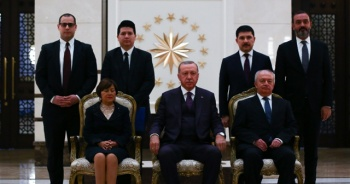Cumhurbaşkanı Erdoğan, Ekvator Büyükelçisini kabul etti