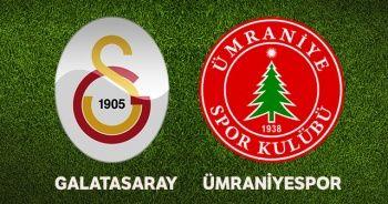 Galatasaray Ümraniyespor Maçı ÖZETİ GOLLERİ! GS Ümraniyespor kaç kaç bitti?