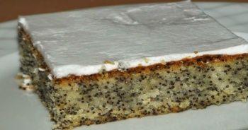Haşhaşlı tatlı tarifi ve Haşhaşlı tatlı yapımı, Haşhaşlı tatlı nasıl yapılır, Kolay Haşhaşlı tatlı yapılışı