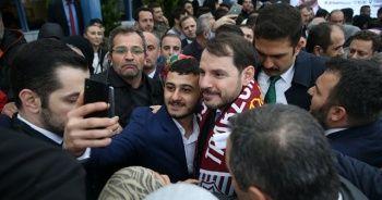 Hazine ve Maliye Bakanı Berat Albayrak'a Trabzon'da yoğun ilgi