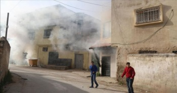 İsrail askerleri Batı Şeria'da bir Filistinlinin iki evini yıktı
