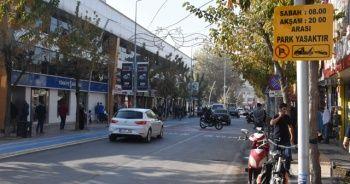 İstanbul Caddesinde park yasağı başladı