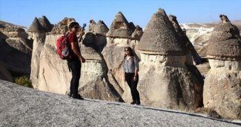 Kapadokya'da turist sayısındaki artış devam ediyor