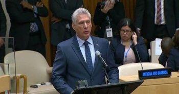 Küba Devlet Başkanı'ndan ABD'ye yaptırım tepkisi