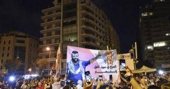 Lübnan'da Avn'ın açıklamaları sonrası yeniden alevlenen gösteriler sürüyor