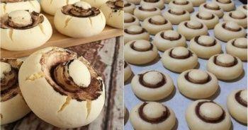 Mantar kurabiye tarifi ve Mantar kurabiye yapılışı, En kolay mantarlı kurabiye tarifi ve yapımı