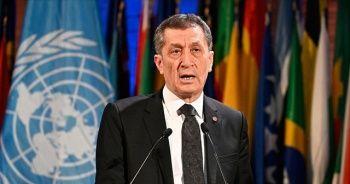 Milli Eğitim Bakanı Selçuk: UNESCO'yu ileriye taşıyacak her inisiyatifte Türkiye'ye güvenebilirsiniz