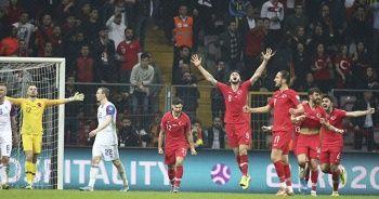 Millilerde maç sonu büyük sevinç