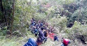 Nepal'de otobüs kazası: 18 ölü, 13 yaralı