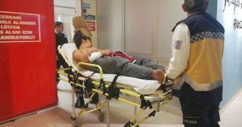 Sıcak su kazanı patladı! 18 yaşındaki genç hastanelik oldu