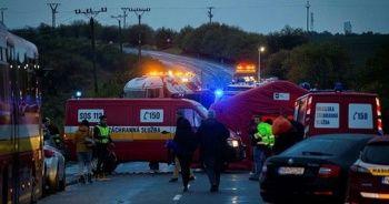 Slovakya'yı yasa boğan kaza: 12 ölü, 17 yaralı