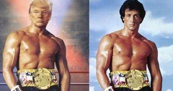 """Trump'tan """"Rocky"""" paylaşımı"""