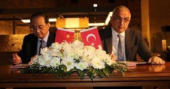 Türkiye Çin'e ait kültür varlıklarını iade etti