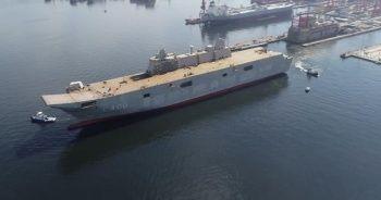 Türkiye'nin en büyük savaş gemisi 2020 sonunda denizde!