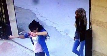 Üç genç kız dans ederek girdiği siteyi soydu