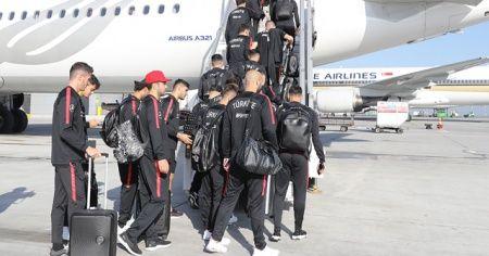 A Milli Futbol Takımı, Türkiye'ye döndü