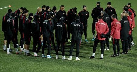 A Milli Takım, Andorra maçına hazır