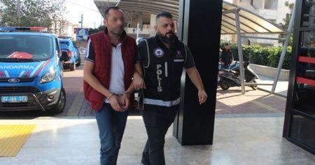 Alanya'da üzerinden uyuşturucu çıkan şüpheli tutuklandı