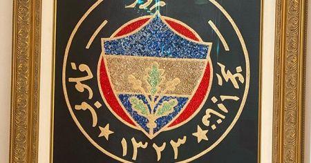 Ali Koç'tan özel Fenerbahçe logosu: 8 bin taş işlenerek yapıldı