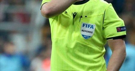 Andorra-Türkiye maçının hakemi belli oldu