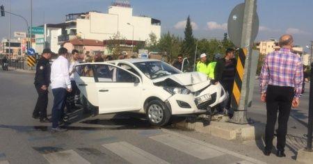 Aynı yerde 10 dakikada 2 kaza: 4 yaralı