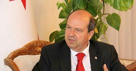 """Başbakan Tatar'dan KKTC bayrağını yakan Rumlara sert tepki: """"Olayın peşini bırakmayacağız"""""""