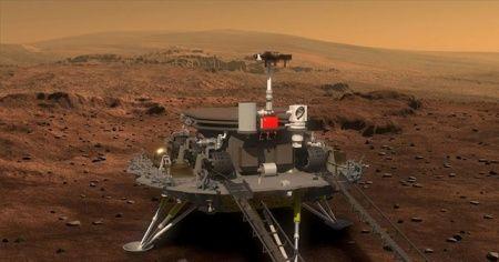 Çin 'Mars'a iniş testi' yaptı