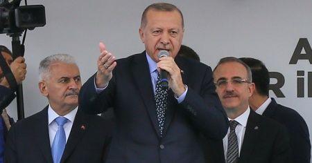 Cumhurbaşkanı Erdoğan'dan, Külliye'ye giden CHP'li iddiasına cevap